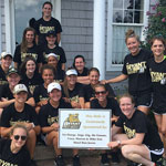 Black and Gold Field Hockey Golf