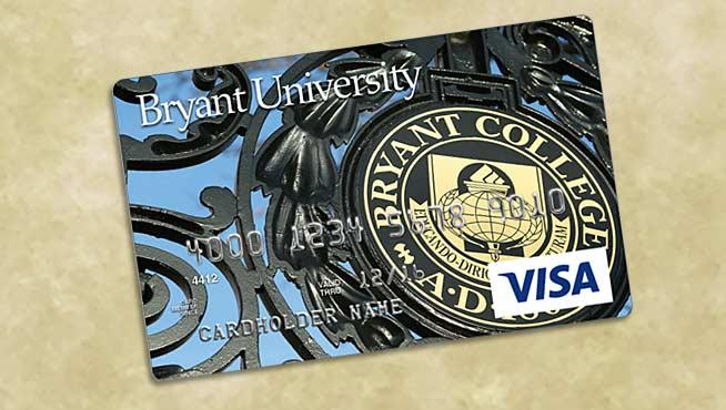 Alumni Rewards Visa: Show your Bryant pride with every purchase